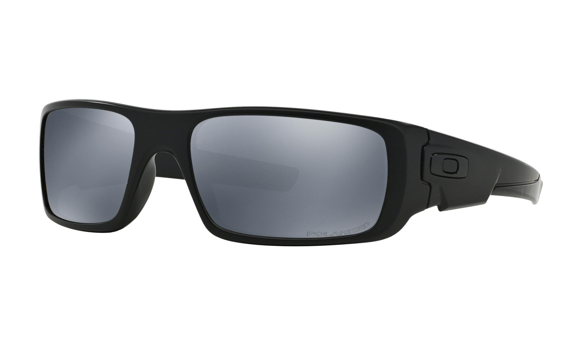 b32b170390d0 Oakley Crankshaft Men's Sunglasses – Matte Blk w/ Blk Iridium Polarized Lens
